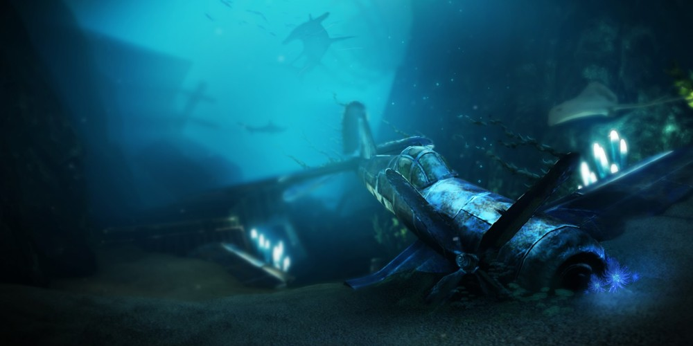 VR-Undercurrent-Exploration-Game-Underwater-Training-Simulator-Plane-Wreck